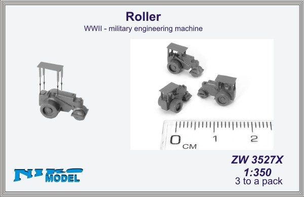 Roller  WWII - military engineering machine