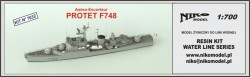 French Frigate Protet F748 1960