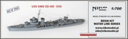 USS SIMS DD-409 1938