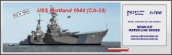 USS PORTLAND (CA-33) 1944