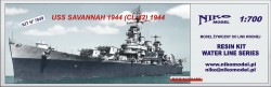 USS SAVANNAH 1944 (CL-42) 1944