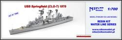 USS Springfield (CLG-7) 1970