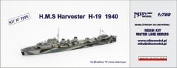H.M.S Harvester  H-19 1940