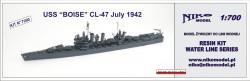 USS BOISE 1942