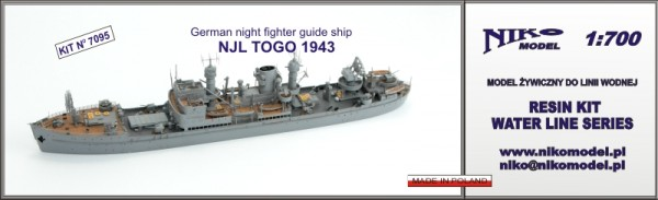 German night fighter guide ship - NJL TOGO 1943