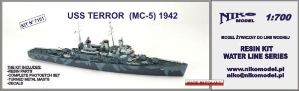 USS TERROR  (MC-5) 1942