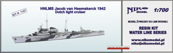 HNLMS Jacob van Heemskerck 1942