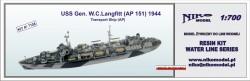 USS Gen. W.C.Langfitt (AP 151) 1944