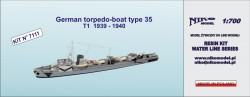 German torpedo-boat type 35  T1  1939 - 1940