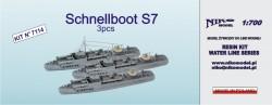 Schnellboot S7 - 3 pcs