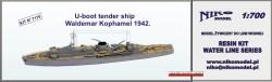U-boot tender ship - Waldemar Kophamel 1942
