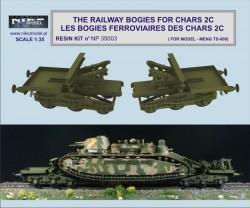 THE RAILWAY BOGIES FOR CHARS 2C