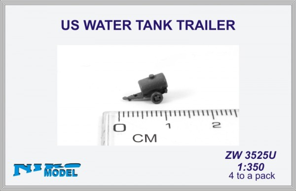 US WATER TANK TRAILER