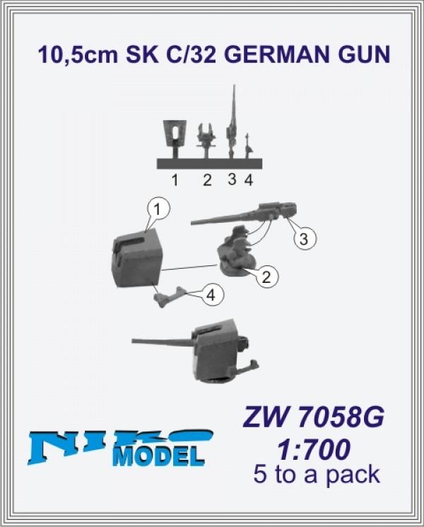 10,5cm SK C/32 GERMAN GUN