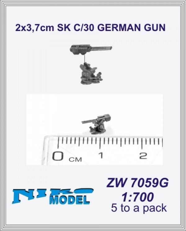 2x3,7cm SK C/30 GERMAN GUN