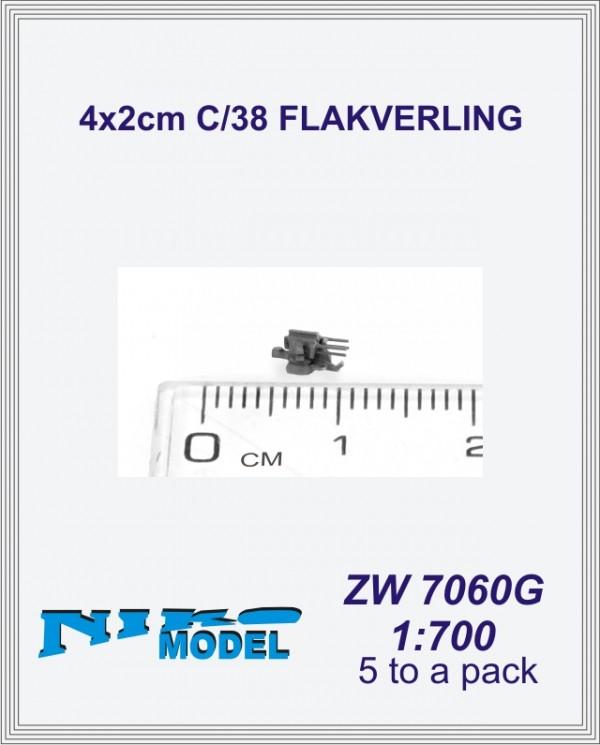 4x2cm C/38 FLAKVERLING