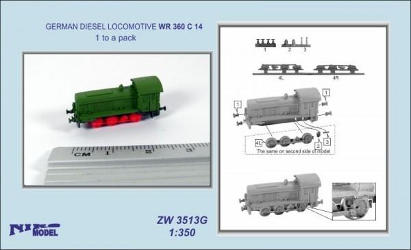GERMAN DIESEL LOCOMOTIVE WR 360 C 14